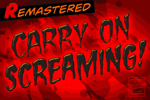 Carry On Screaming font