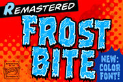Frostbite font