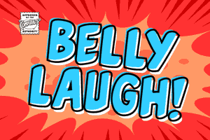 Belly Laugh font