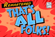 Thats All Folks font