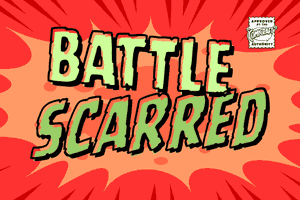 Battle Scarred font