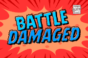 Battle Damaged font