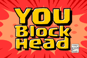 You Blockhead font