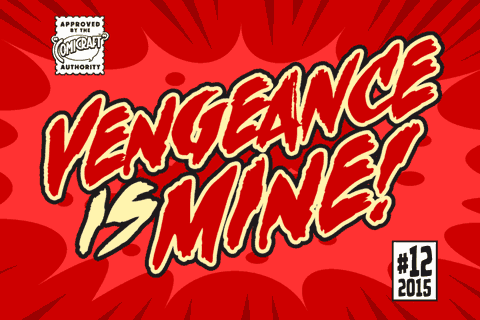 Vengeance is Mine font