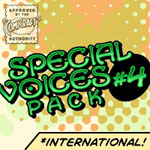 Special Voices Pack #4 International