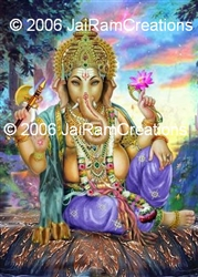 8-111  Ganesh - 8 x 10 Ready to Frame Photograph