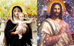 CS-04 Mother Mary and Child / Jesus Christ Cosmos