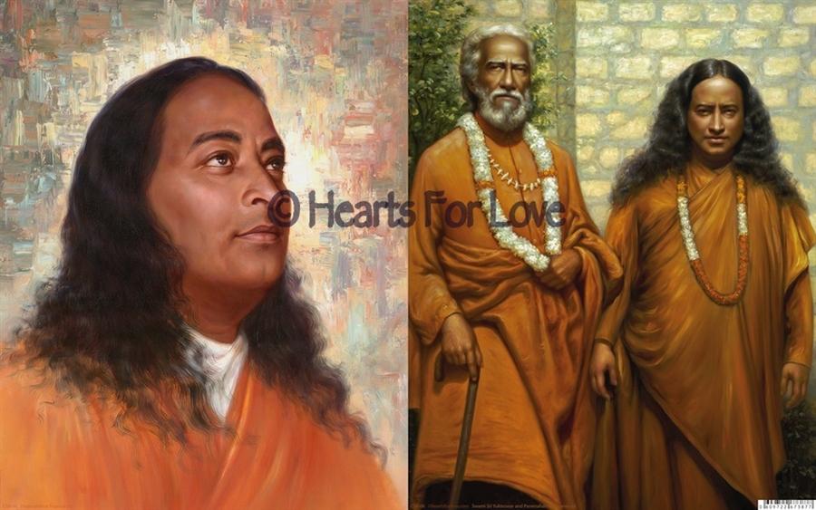 Swami Sri Yukteswar And Paramahansa Yogananda Greeting Cards