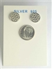 ER-SSLV11.5-FOL Sterling Silver Flower Of Life Earrings