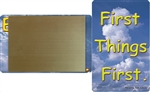 fridge magnet credit card size