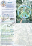 GC-06 Peace Symbol Greeting Card