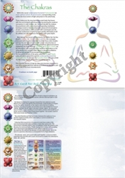 GC-11 The Chakras Greeting Card