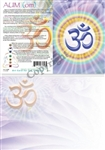 GC-13 Aum (OM) Greeting Card