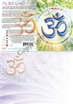GC-14 Aum (OM) Greeting Card