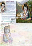 GC-20 Baby Krishna Greeting Card