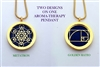 Golden Ratio/Metatron Aroma Therapy Double Sided Pendant