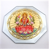 lakshmi prosperity mirror with 18k gold plating and full color printing
