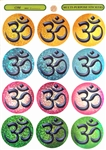 MS-13 Colorful OM Multi-Stickers