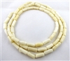 astrological bamboo white coral necklace