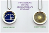 Torus Vortex/Golden Ratio Aroma Therapy Pendant