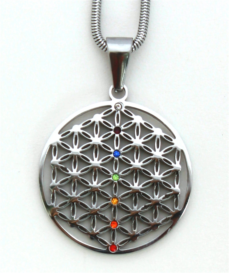 Of life pendant stainless steel alternative views mozeypictures Gallery