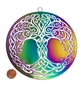 "SS-MOB-TOL  6"" Celtic Tree of Life Mobile - Anodized Titanium Stainless Steel"