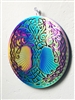 "SSM-MOB-TOL  6"" Celtic Tree of Life Mobile - Anodized Titanium Stainless Steel with Mirror"