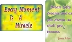 WA-113 Every Moment is a Miracle - Wallet Altar