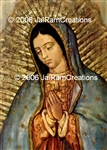 WA-134 Our Lady of Guadalupe - Wallet Altar