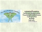 WA-148 My Life Is A Miracle Unfolding - Wallet Altar