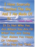 WA-180 Touched the Sky - It Is How You Think - Wallet Altar