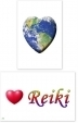 WA-219 Global Heart - Love Reiki - Wallet Altar