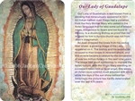 WA-074 Our Lady of Guadalupe - Wallet Altar