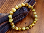 Golden Yellow Tiger's Eye Bracelet