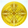 gold plated Double Dorje Healing Grid