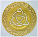 18 karat gold plated Celtic Triquetra Icon