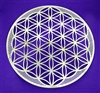 flower of life in stainless steel