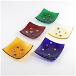 Murano Glass Jewelry Dish