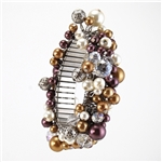 Mulit-Colored Crystal Bead Bracelet