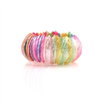 Bracelet Multicolor Seashell Stretch Fit