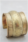 Brass Bangle Cuff Bracelet