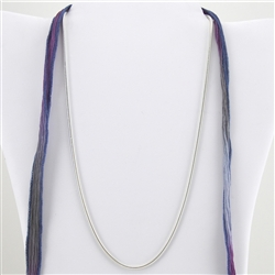 "Sterling Silver 925 Snake Chain 30"" Necklace"