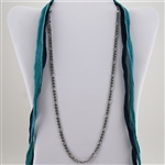 "Stainless Steel Link 24"" Chain Necklace"