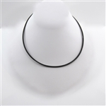 "18"" Stainless Steel Multiple Strand Cable Necklace"