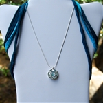Star of David Necklace Made With Rare and Treasured Ancient Roman Glass