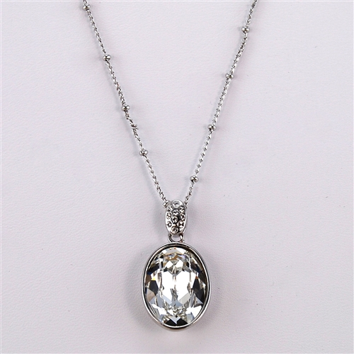 pendant product shop supernova image swarovski plated crystal of necklace palladium