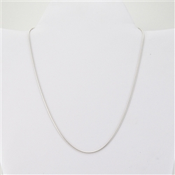 "Silver Chain 15.5"" Necklace"