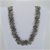 Silver, Multiple Medallion, Chain Necklace
