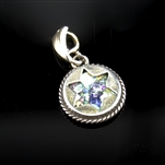 Treasured Roman Glass Star of David Pendant