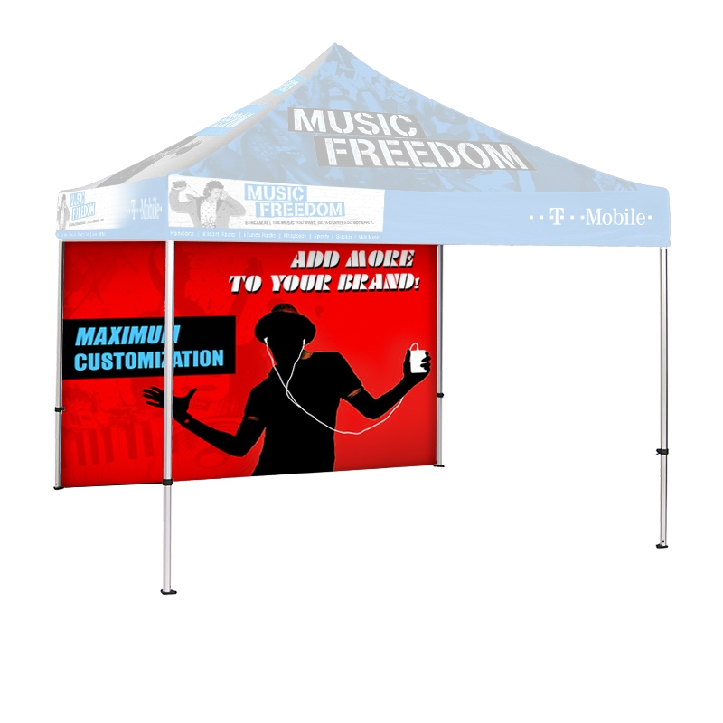 10 ft Canopy Tent Backwall  sc 1 st  Signworld America & ft Canopy Tent Backwall
